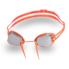 Head Diamond Gold Mirrored Lunettes de protection, orange-fluo